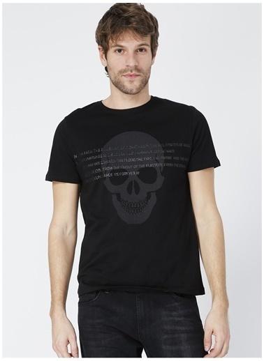 Black On Black Black On Black Losangeles Siyah Erkek T-Shirt Siyah